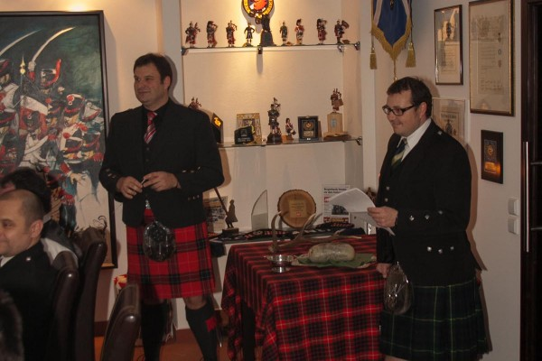 2013-02-01 Burns Night 0001